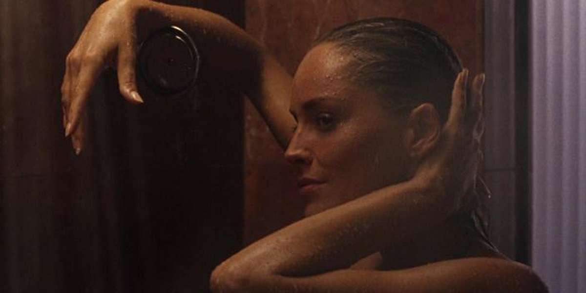 Sharon Stone Breasts Scene In Sliver