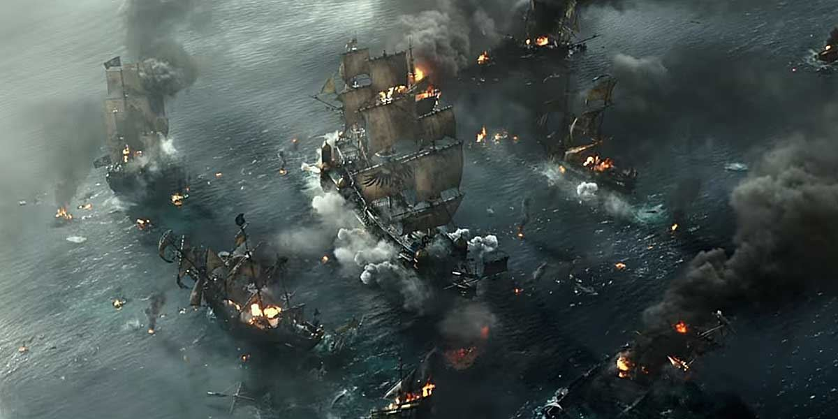 Пираты Карибского моря: Мертвецы не рассказывают сказки смотреть онлайн бесплатно в хорошем качестве
